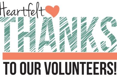 Volunteer Thanks