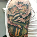 Tattoo Traditions in Military Service